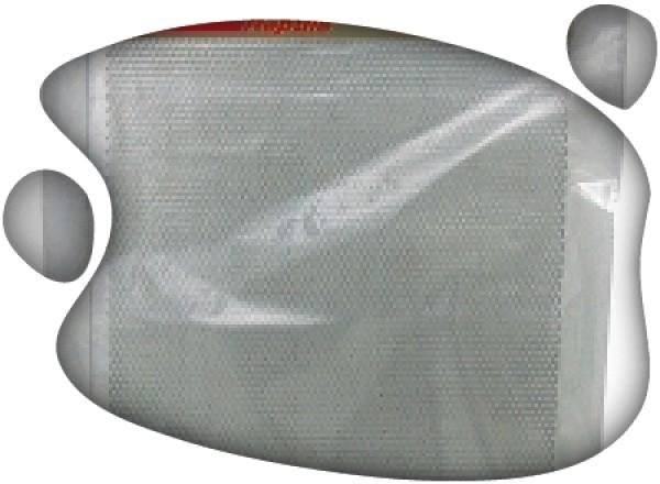 Plancha perforada 50x5cm